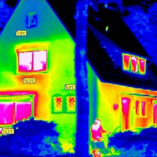Warmtecamera huis
