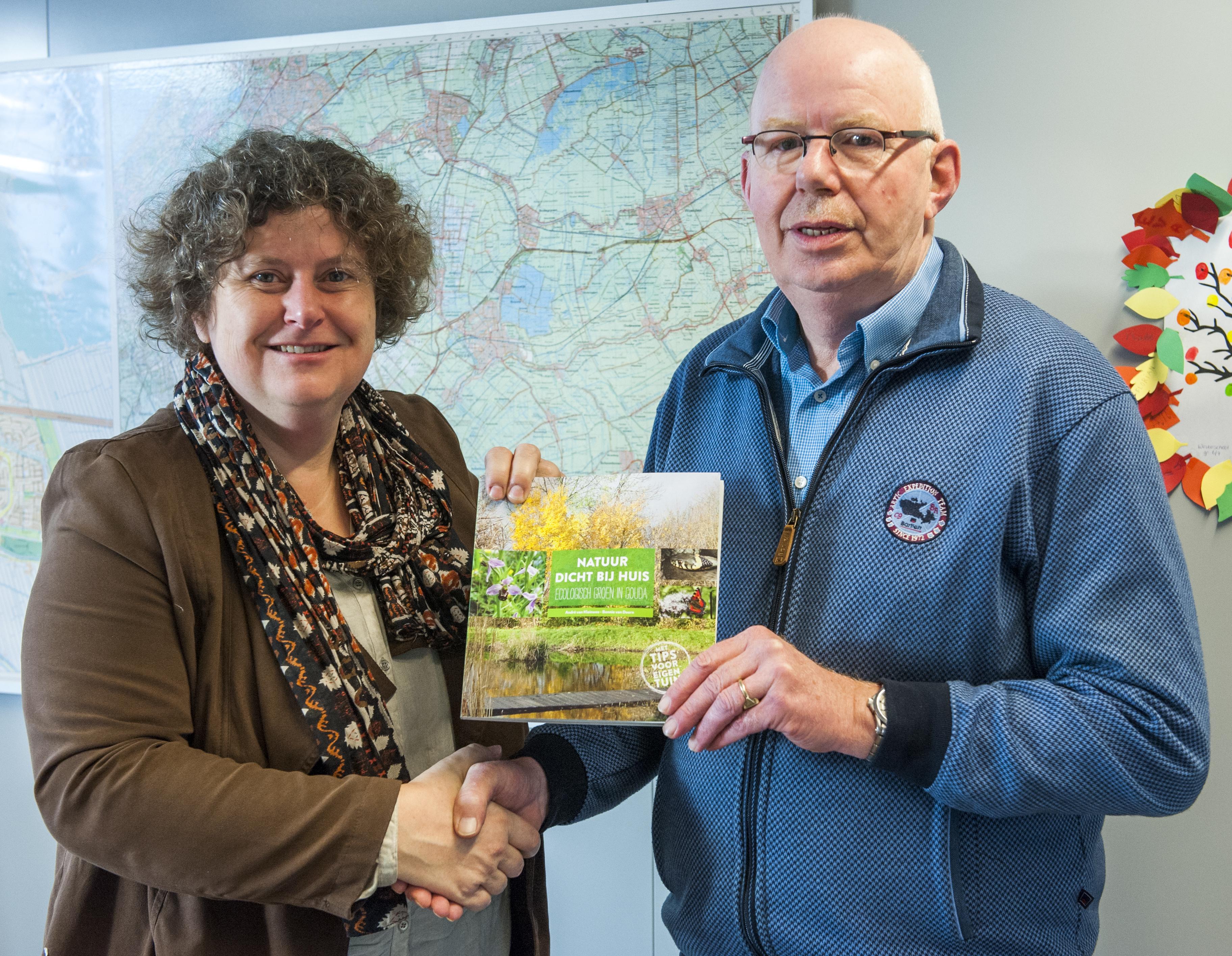 Stadsecoloog André van Kleinwee lanceert zijn boek